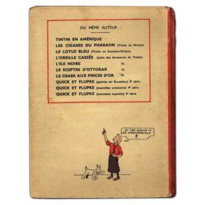 Tintin au Congo 1941 – Kuifje in Afrika