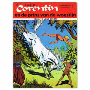 Corentin en de prins van de woestijn