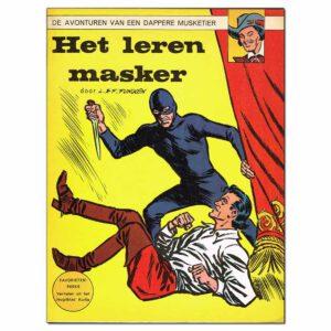 Het leren masker