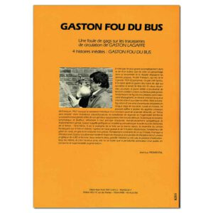 Gaston – Fou Du Bus!